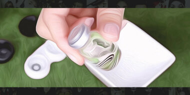 Before You Open The Contact Lens Packaging
