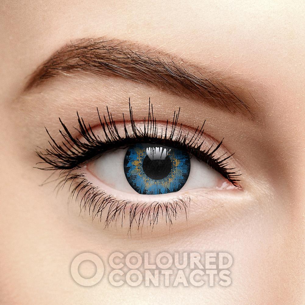 Echt farbige kontaktlinsen aussehen die Rinnegan Farbige