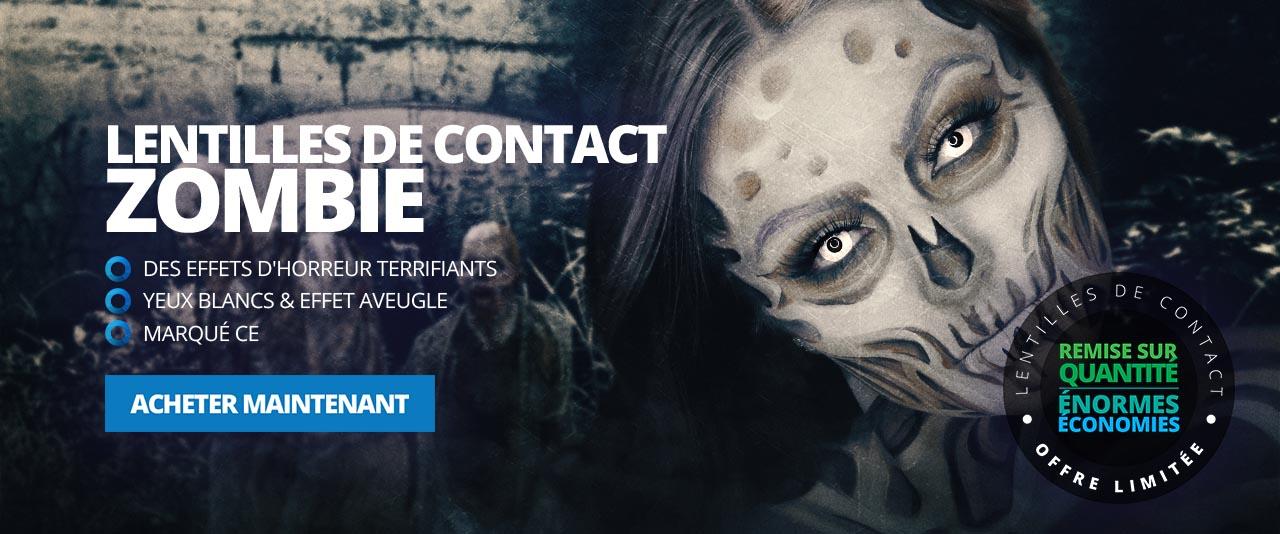 Zombie Lentilles De Contact