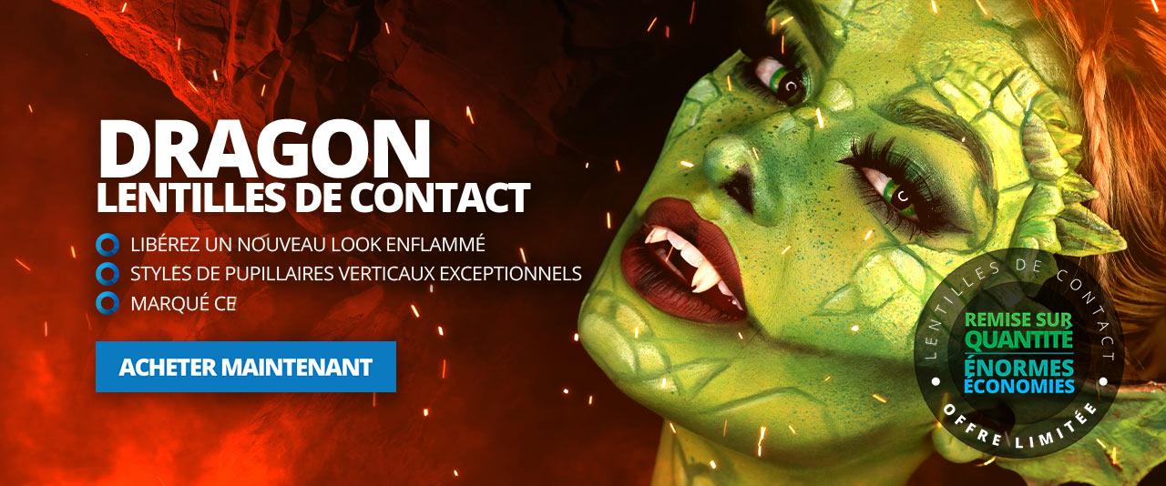 Lentilles de Contact Dragon