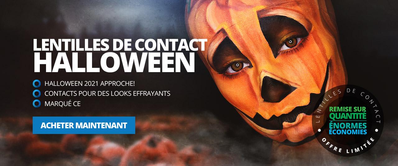 Lentilles De Contact Halloween